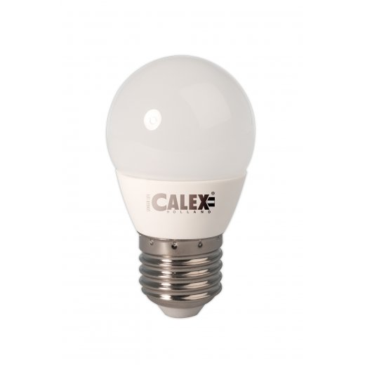 Calex LED Ball lamp 240V 5W 470lm E27 P45, 2700K, energy lab