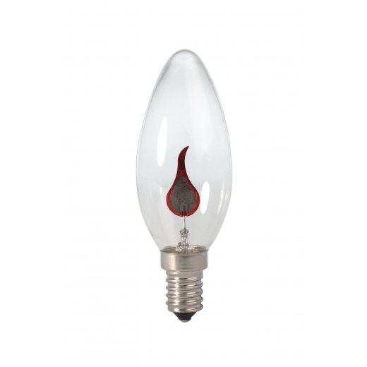 Calex Candle lamp 240V 3W E14 flicker flame