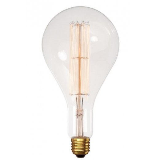 Calex Clear LL Filament Lamp 240V 100W E40 XXL A160x320mm, 3
