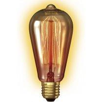 Calex Clear LL Goldline-filament Lamp 240V 35W E27 Rustic 60