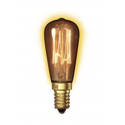 Calex Clear LL Goldline-filament Lamp 240V 40W E14 Rustic ST