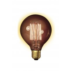Calex Clear LL Goldline-filament Lamp 240V 40W E27 Globe-Typ