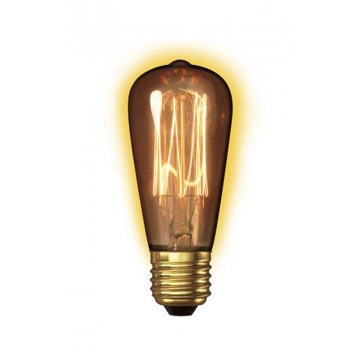 Calex Clear LL Goldline-filament Lamp 240V 40W E27 Rustic ST
