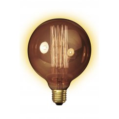 Calex Clear LL Goldline-filament Lamp 240V 60W E27 Globe-Typ