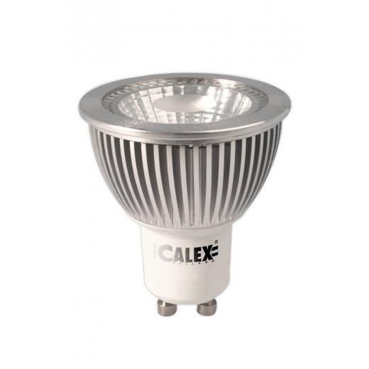 calex cob led lamp gu10 240v 6w warm white 2700k dimmable. Black Bedroom Furniture Sets. Home Design Ideas