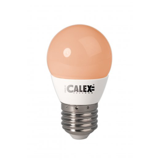 Calex LED Ball lamp 240V 3W E27 P45, Flame 200 lumen 25.000