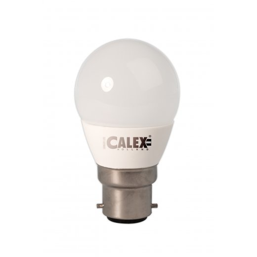 Calex LED Ball lamp 240V 4,5W 360lm B22 P45, 2700K