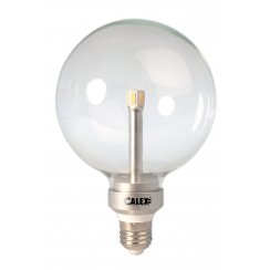 Calex LED Crystal Globe G125 240V 7W E27, 2700K 30.000 hour,