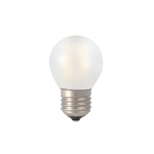 Calex LED Full Glass Filament Ball-lamp 240V 3W E27 P45, Fro