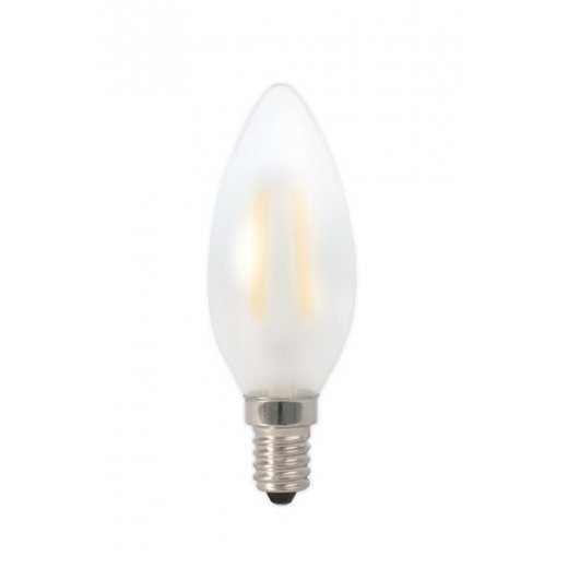 Calex LED Full Glass Filament Candle-lamp 240V 3W E14 B35, F