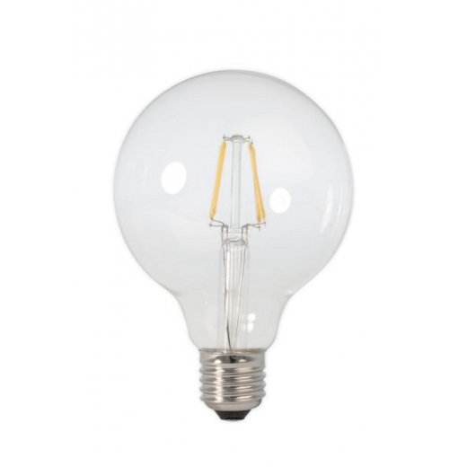 Calex LED Full Glass Filament Globe Lamp 240V 2W E27 GLB95,