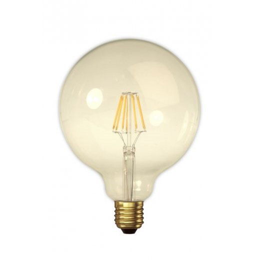 Calex LED Full Glass Filament Globe Lamp 240V 4W E27 , Gold