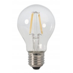 Calex LED Full Glass Filament GLS-lamp 240V 4W E27 A55, Clea