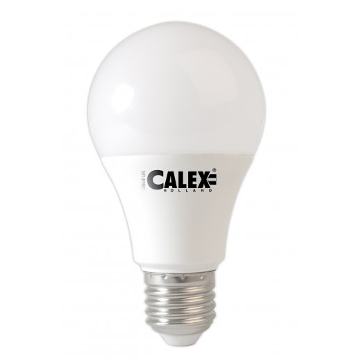 Calex Power LED A60 GLS-lamp 240V 8W E27, 3000K Dimmable, en