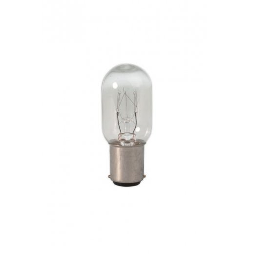 Calex Tubular lamps 240V 25W Ba15d T22 clear, energy label E