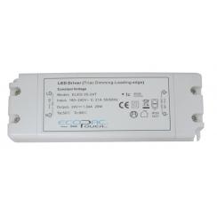 ECOPAC ELED-25-12T Series 25 Watt Triac Dimmable Driver