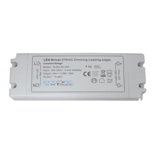Ecopac Power ECOPAC LED ELED100-12T Series 100 Watt Triac Dimmable Driver