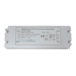 ECOPAC LED ELED50-12T Series 50 Watt Triac Dimmable Driver