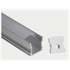 1M LED PROFILE SURFACE MOUNTING 16X12MM