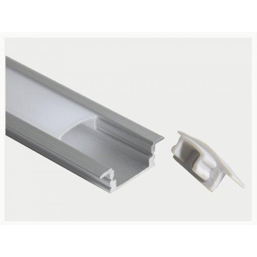 LampLed Uk 1M RECESS ROUTER ALUMINIUM LED PROFILE 22X6mm
