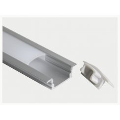 1M RECESS ROUTER ALUMINIUM LED PROFILE 22X6mm