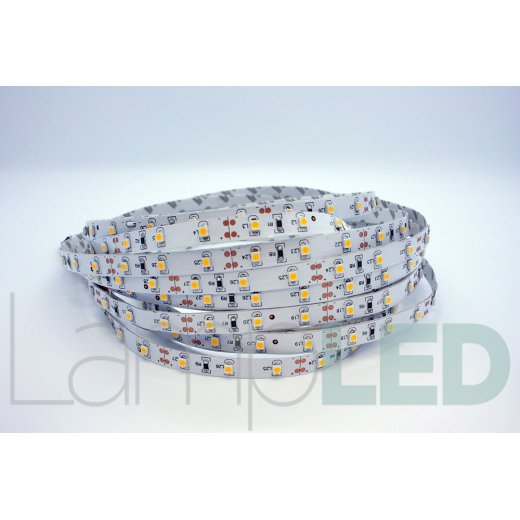 LampLed Uk 5M LED STRIP 3528 60 LED PM 4.8 Watts Per M WW IP20