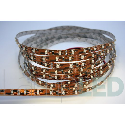 LampLed Uk 5M LED STRIP 3528 60LED PM 4.8 Watts Per M BLUE IP20