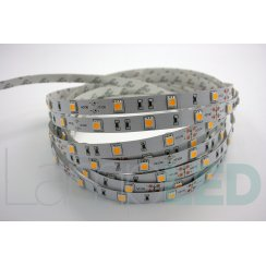 5M LED STRIP 5050 30LED PM 7.2 Watts Per M WW IP20