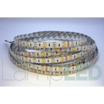 5M LED STRIP 5050 60LED PM 14.4 Watts Per M RGB With WW IP65