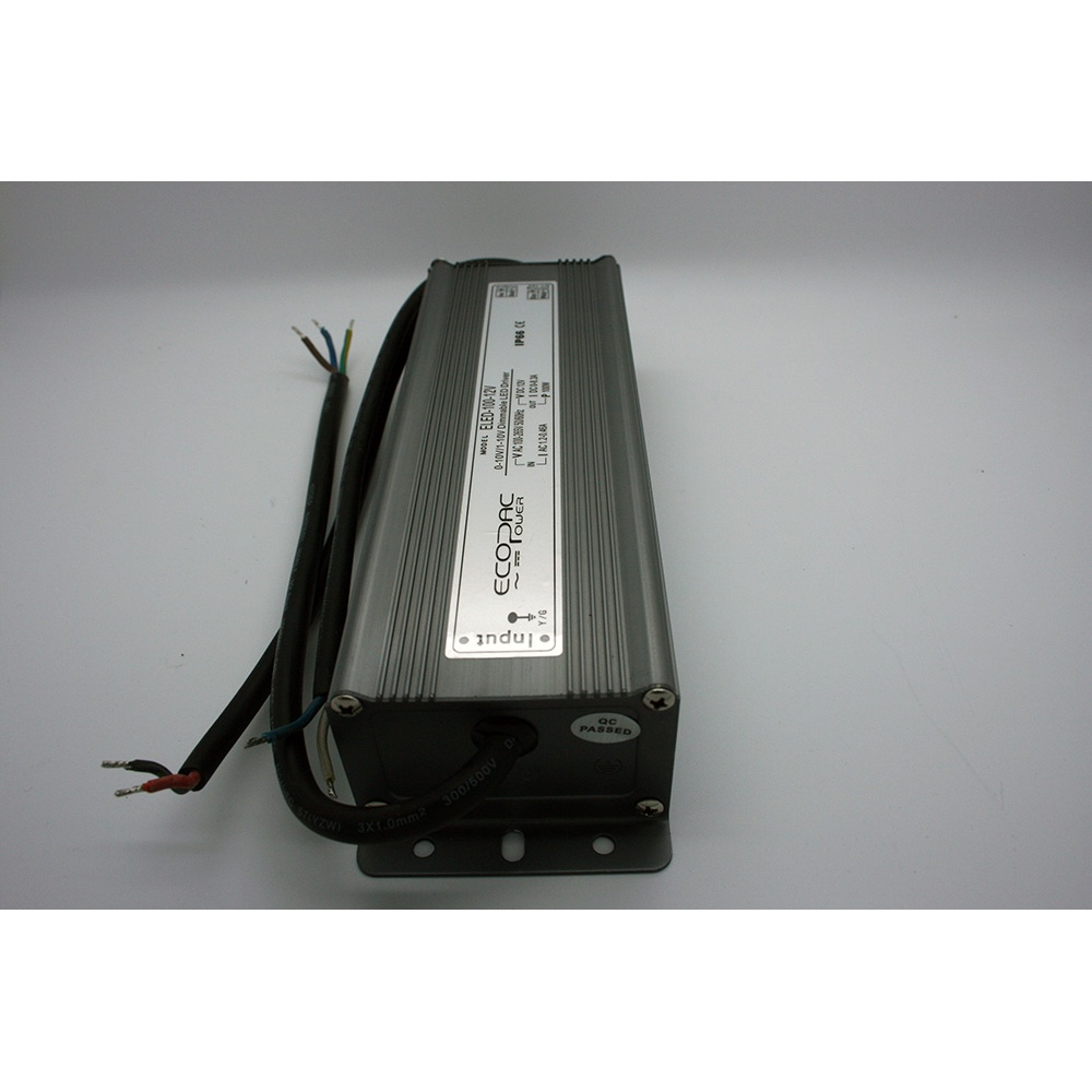 Ecopac 12v 100w 0 10v Dimmable Led Driver Ip66 Power Circuit Lampled Uk