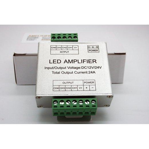 LampLed Uk Mini RGB Amplifier DC12-24V 3x4A