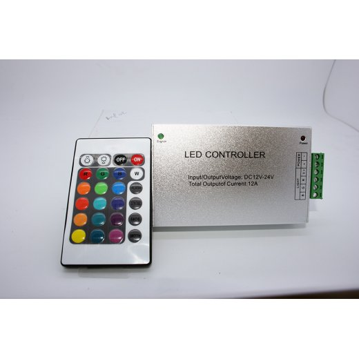 LampLed Uk RF RGB Controller With Rainbow Remote