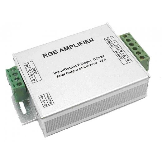 LampLed Uk RGB Amplifier DC12-24V 3x4A