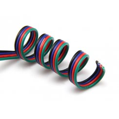 RGB Colour AWG Cable per mtr