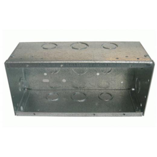Lutron 4-Gang Metal Backbox.