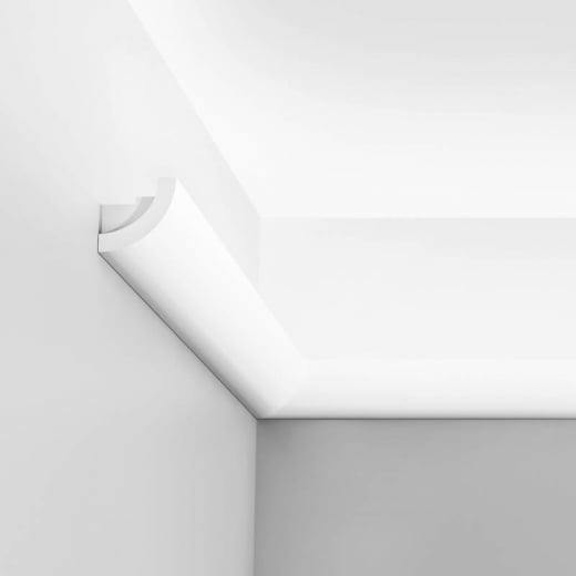 Orac Decor Curve Cornice moulding for indirect lighting