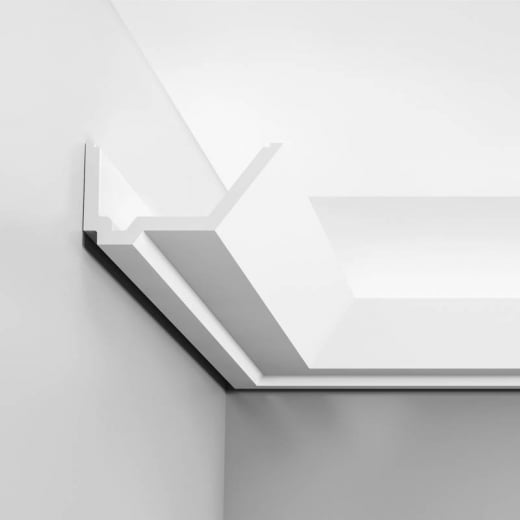 Orac Decor Rail Cornice moulding for indirect lighting