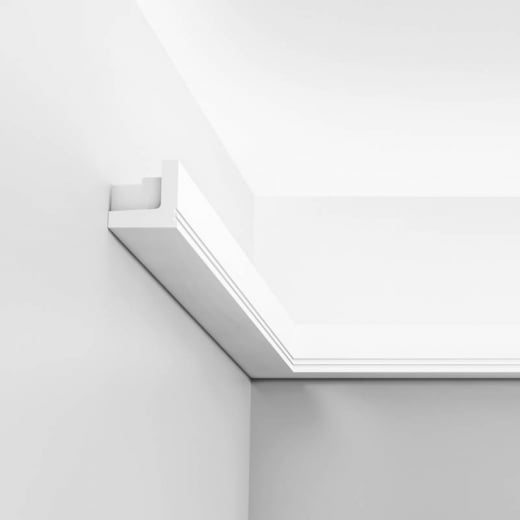 Orac Decor Stripe Cornice moulding for indirect lighting
