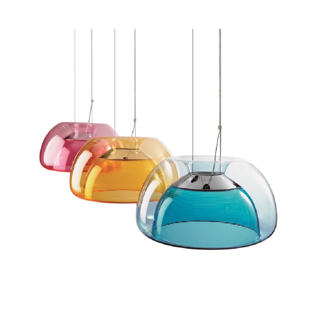 Aurelia suspension blue for Verlichting hanglampen design