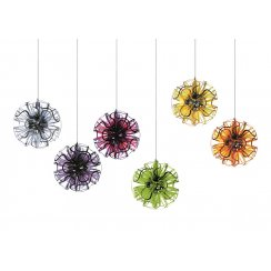 Coral LED Suspension Universal Frosted White