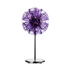 Coral LED Table Lamp 45cm Violet