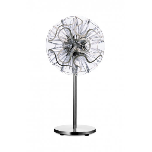 Qis Design Coral LED Table Lamp 55cm Clear