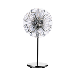 Coral LED Table Lamp 55cm Clear