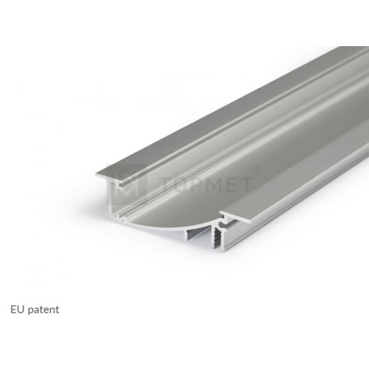 TOPMET Profile LED FLAT8 H/UX